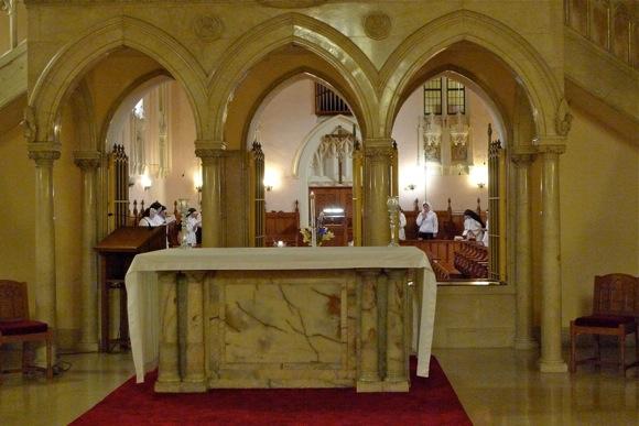 chapel at Corpus Christi Monastery