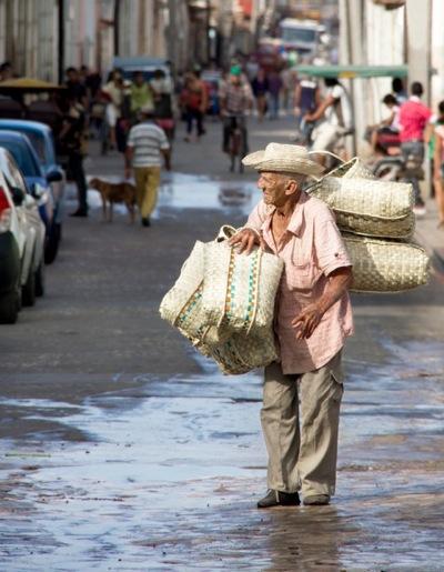 Basket Seller by Ann Eddington