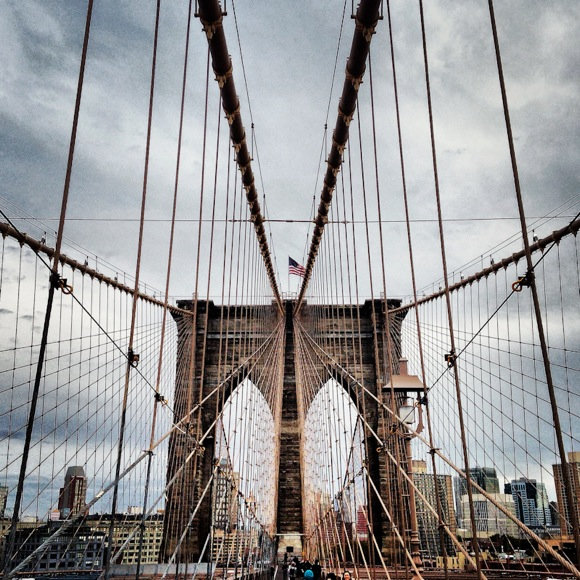 Brooklyn Bridge by Scott Kline