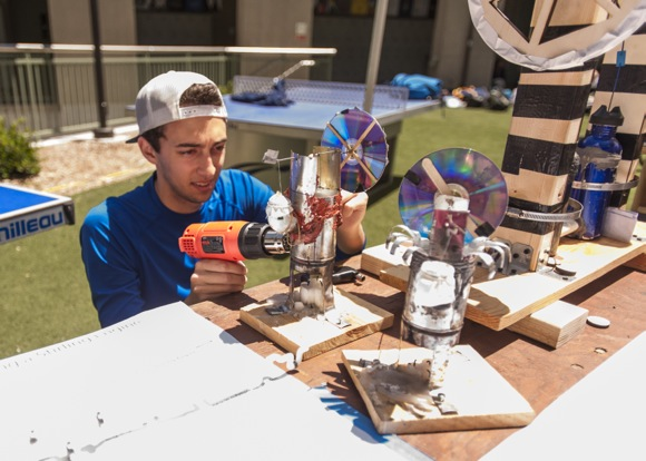 Menlo School students display inventions and projects in