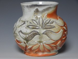 Misako Kambe wood fired vase