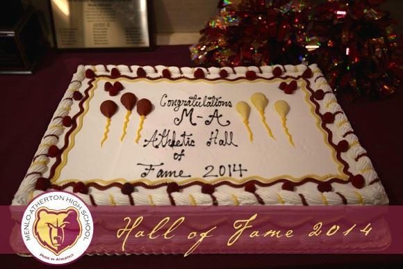 Hall of Fame cake