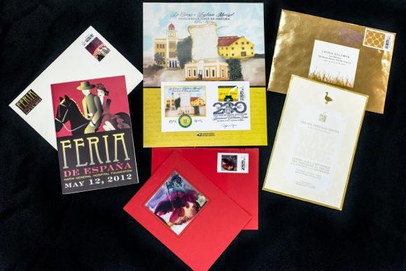 Custom cards from Endicia