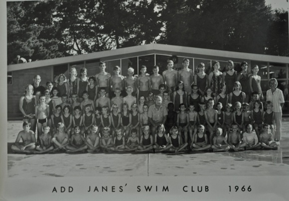 Add Janes Swim Club 1966