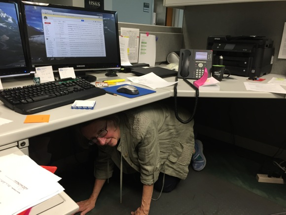 USGS in Menlo Park participates in Great Shakeout