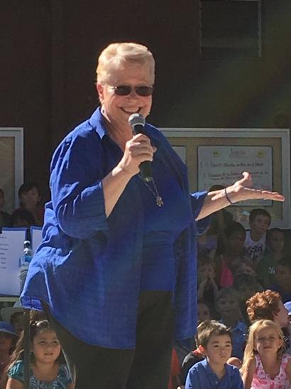 Mary Beckstrom bids adieu to Laurel School