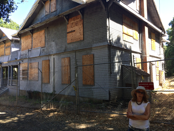 At One End Of The Property Sits Hawthorns House, Which Was Constructed In  1887. While Long Abandoned, There Is Discussion About Restoring The 9,000  Square ...