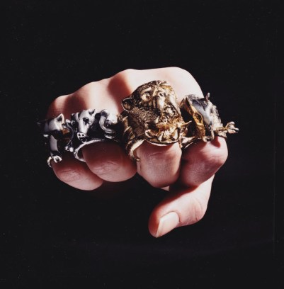 silver_dog_head_rings