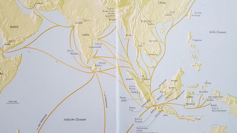 Handel naar Batavia vanuit Azië
