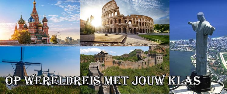 Op wereldreis met jouw klas