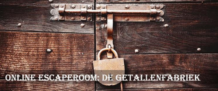 Online escaperoom de Getallenfabriek