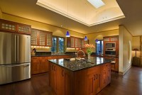 Warm Oriental Kitchens Interior Design