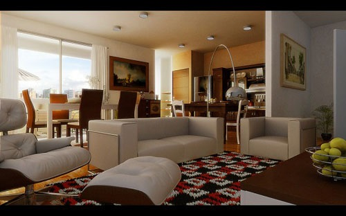 how to decorate living room cool paint colors for 4 tricks your and dining combo 4tricks