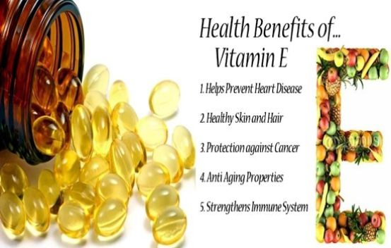 health benefits of Vit E