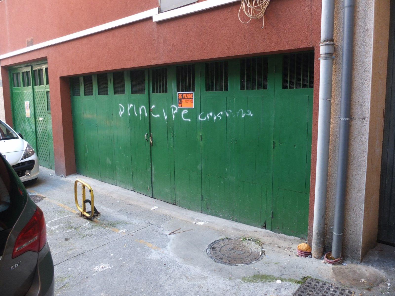 Se vende localgaraje cerrado en Calle Juan Arana 13 trasera Irun  Inmobiliaria Myl Mugan