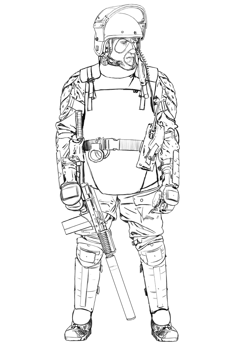 How To Draw A Army Soldier