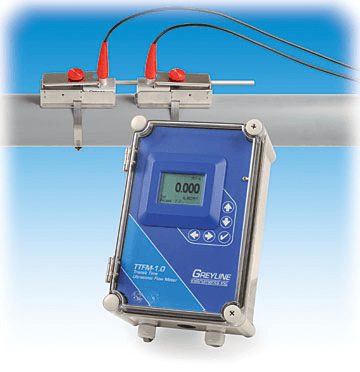 greyline transit time flow meter