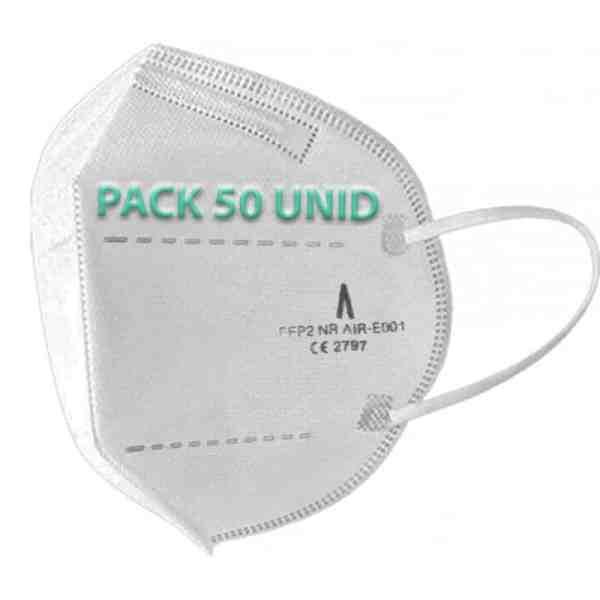 Pack 50 mascarillas FFP2 Airnatech