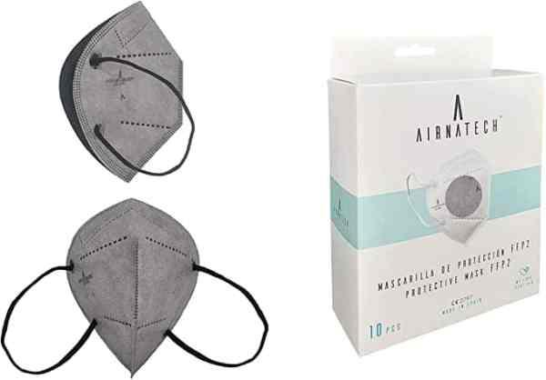 comprar mascarilla airnatech gris ffp2 desechables