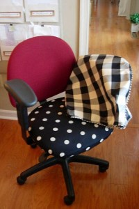 DIY: Office Chair Makeover with Fabric | In My Own Style