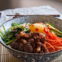 Bibimbap - Koreaans rijstgerecht