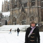 Cologne in the snow
