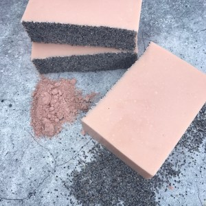 Cleansing clay soap