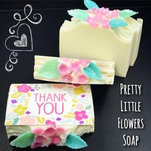 Pretty Little Flowers Soap