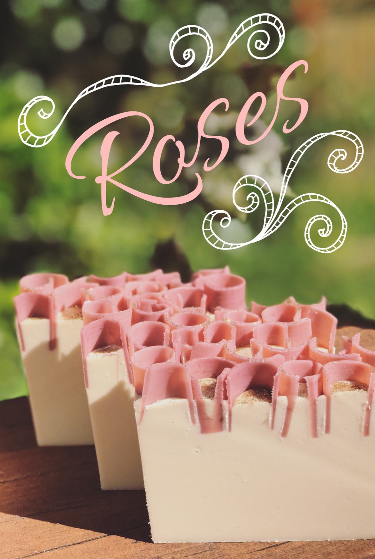 Roses soap
