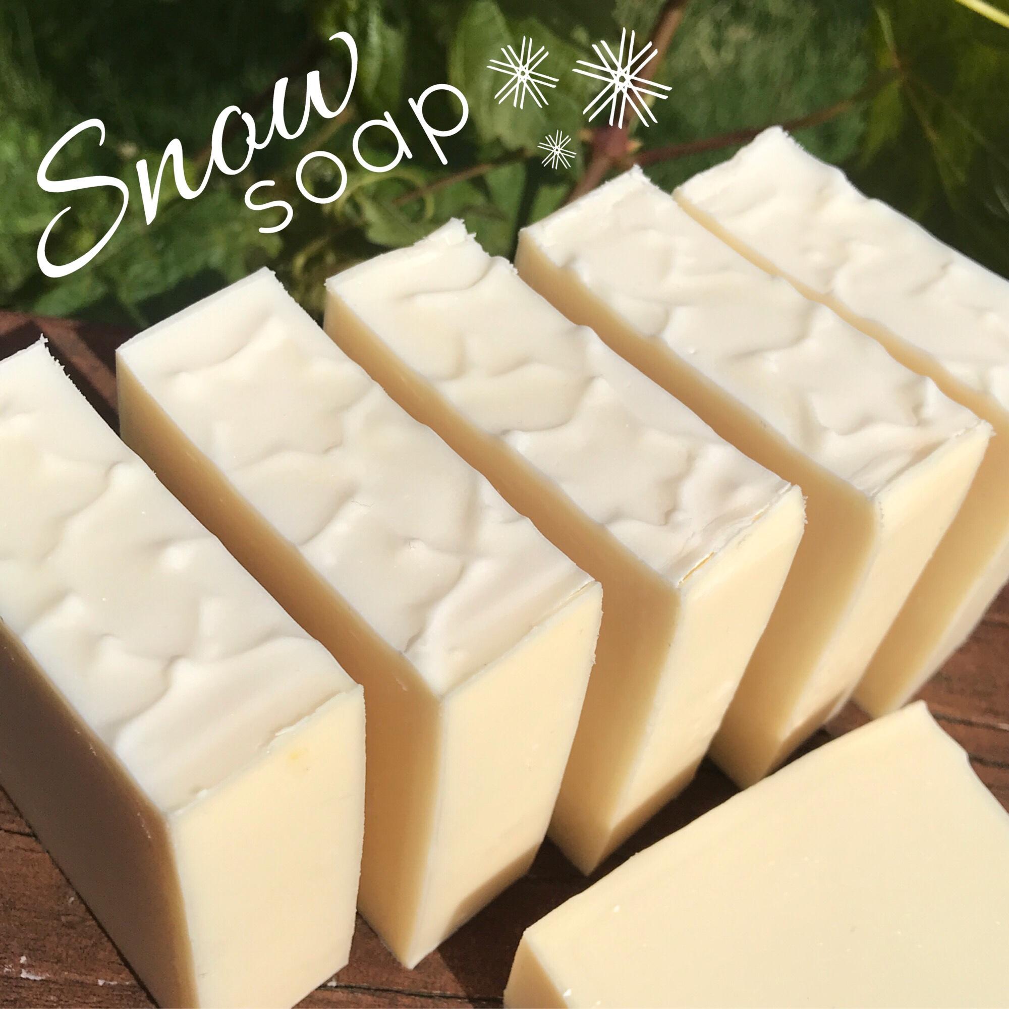 Snow soap
