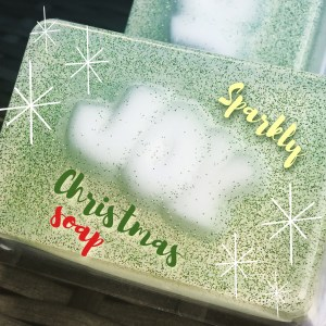 Sparkly Christmas MP soaps