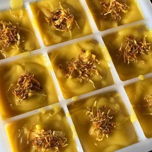 Calendula citrus soap