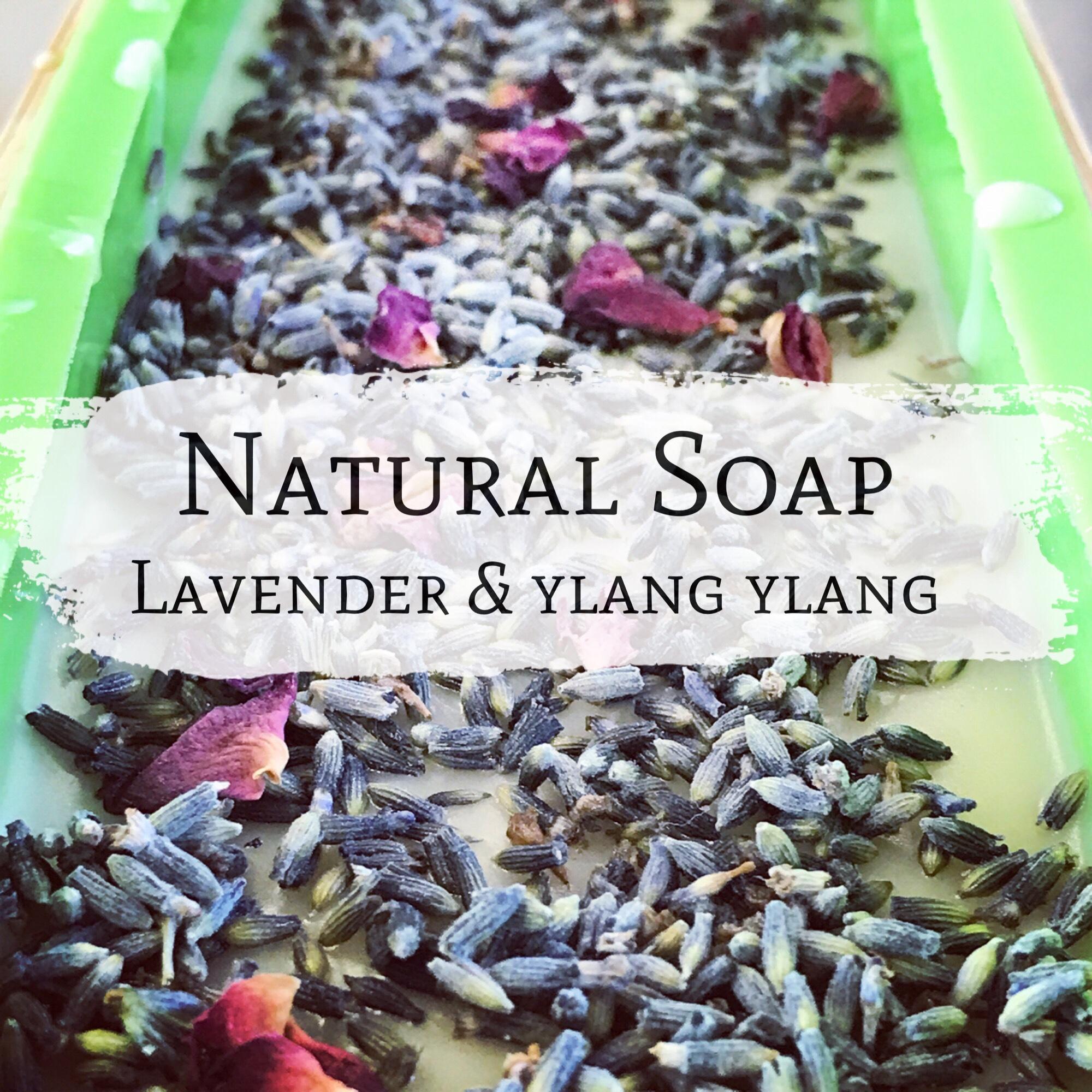 Lavender and ylang ylang soap