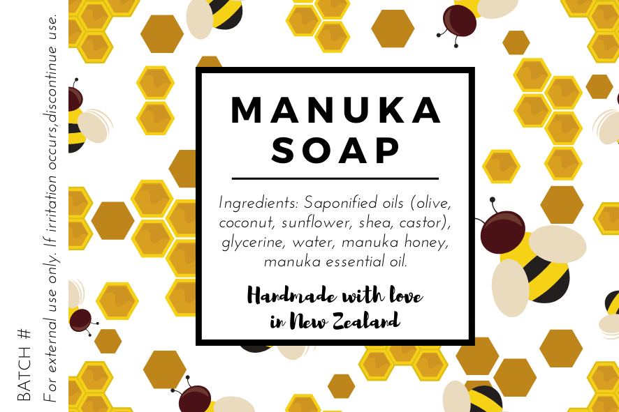 Manuka Soap Label