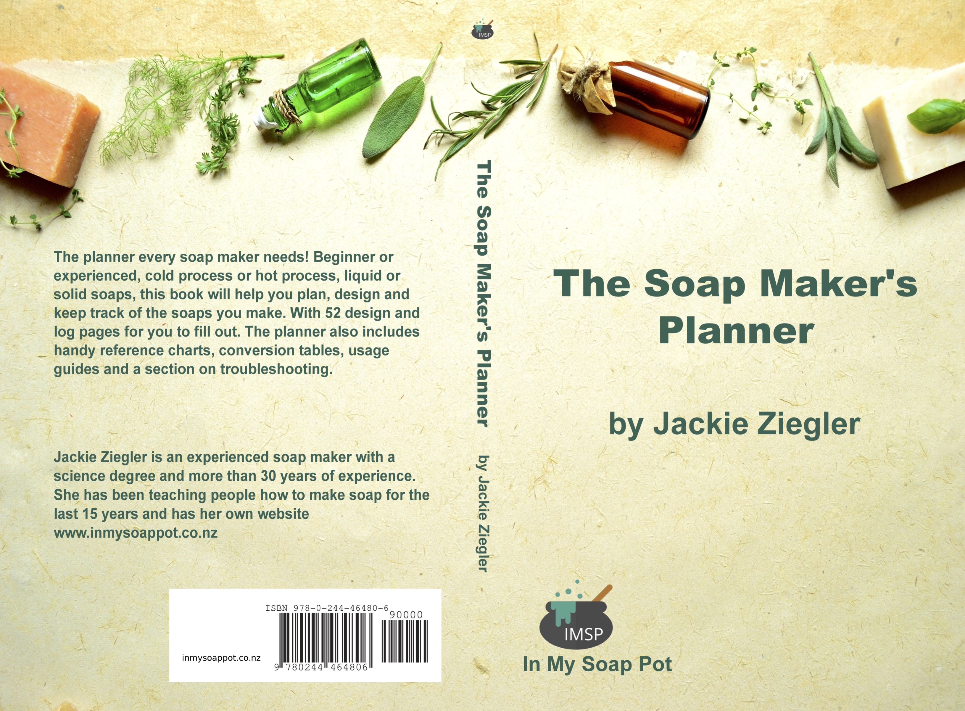 Cover The Soap Maker's Planner
