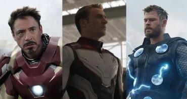 《復仇者聯盟4》的三巨頭美國隊長、鋼鐵人、雷神索爾,誰戰鬥力最強?-我們用電影寫日記