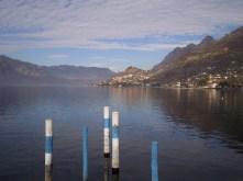 View of Sale Marasino on Lake Iseo, Brescia