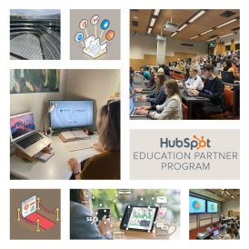 Partnership with Hubspot Academy at the University of Auckland
