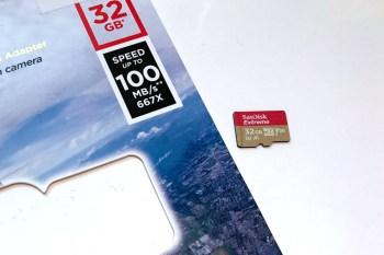 [開箱]Sandisk Extreme 32G (U3,V30,A1)記憶卡速度測試。