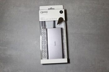 [開箱]Opro9 USB Type-C 10埠多功能轉接器,支援HDMI、VGA、SD、網路線等擴充,可滿足一般日常使用需求。