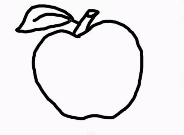 Dibujos de manzanas para colorear e imprimir paso a paso