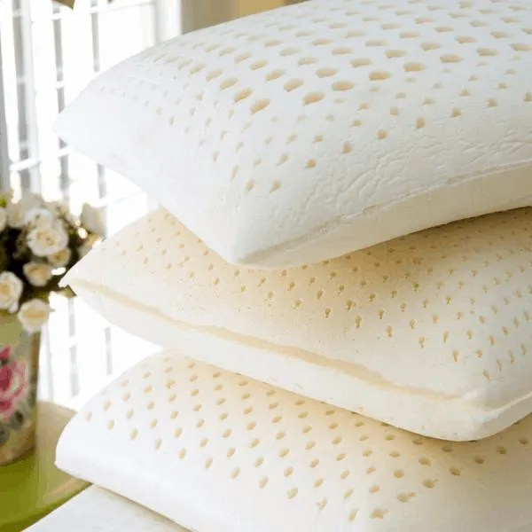 100 natural latex pillows soft firm or contour