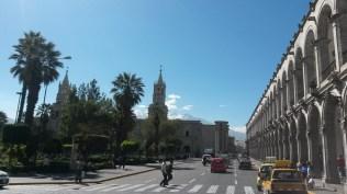 Plaza de Armas w Arequipie