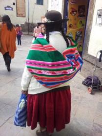 Peruwianka w tradycyjnym stroju
