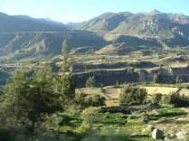 Początek kanionu Colca