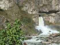 Hydroelektrownia - początek szlaku do Aguas Calientes