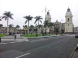 Główny plac w Limie