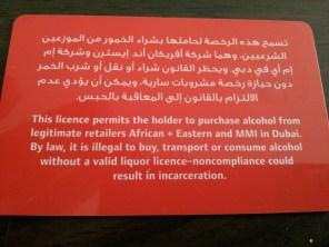 Licencja na alkohol
