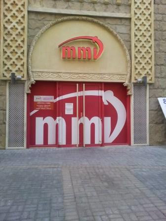 Jeden z kilku sklepów z alkoholem w całym emiracie