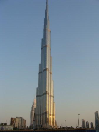 Burj Khalifa - tak wysoki, że nie zmieścił się w kadrze